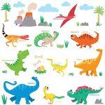 Vinilos decorativos infantiles de dinosaurios