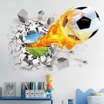 Vinilos decorativos de balón de fútbol