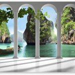 Vinilos decorativos de paisajes naturaleza