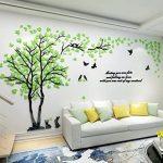 Vinilos decorativos de arboles y hojas