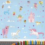 Vinilos decorativos infantiles de unicornios