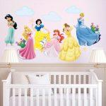 Vinilos decorativos infantiles de princesas